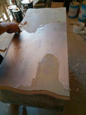 Особенности реставрации деревянной мебели